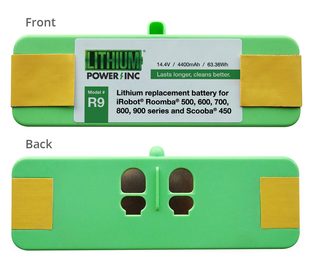 Lithium Battery Replacement For Irobot Roomba R9 Series