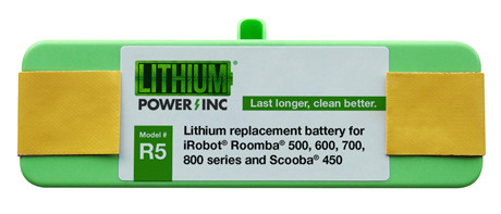 New Lithium Roomba Replacement Battery