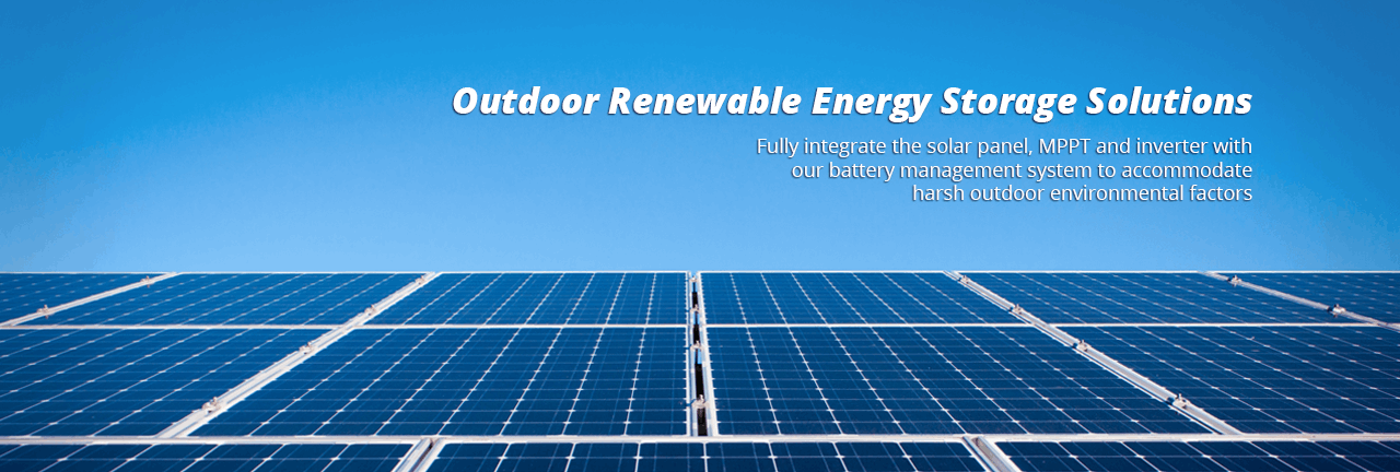 outdoor renewable energy storage system