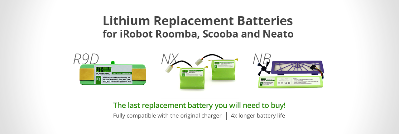 Lithium Battery for Robotic Vacuums